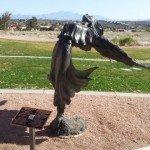 Fountain Hills Sculpture Flower Dancing in the Wind