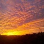 Sunset in Fountain Hills AZ