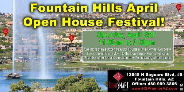 HomeSmart Open House Blitz April 25
